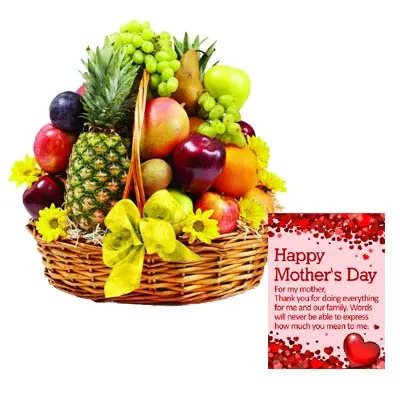 Exclusive 10 KG Mothers Day Fruits Basket