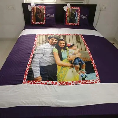 Personalized Bed Sheet E2009