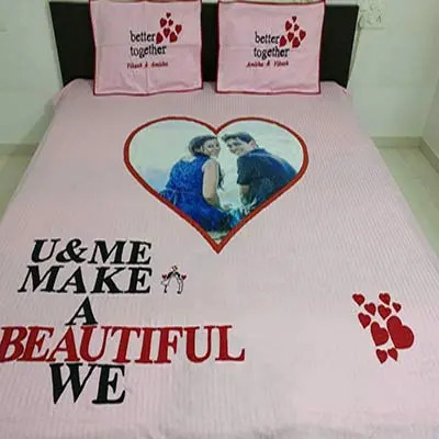 Personalized Bed Sheet E2014