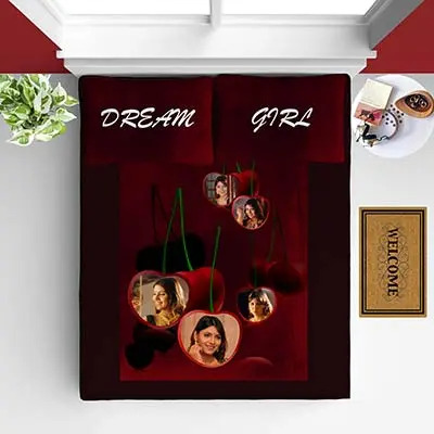 Personalized Bed Sheet E2035