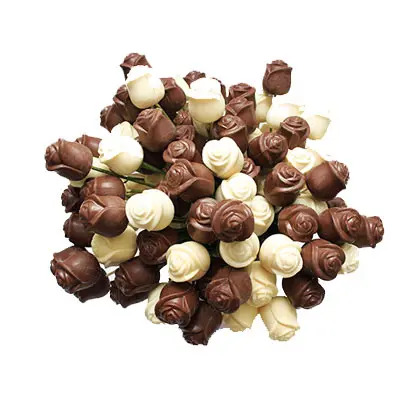 Milk and White Chocolate Roses Pack of 100