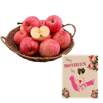 Apple Basket With Mothers Day Card