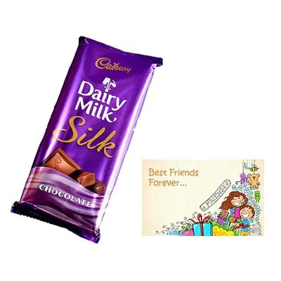 Dairy Milk Silk With Card