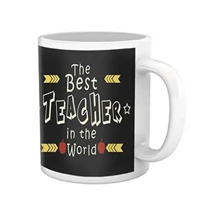 The Best Teacher's Day Mug