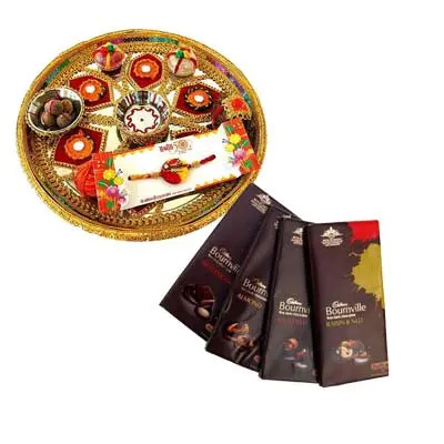 Rakhi Thali With Bournville Chocolate
