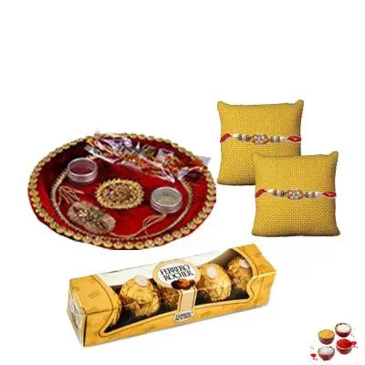 Rakhi Thali With Ferrero