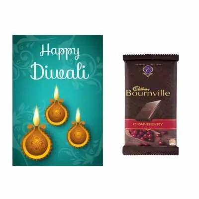 Diwali Greetings with Bournville Chocolates