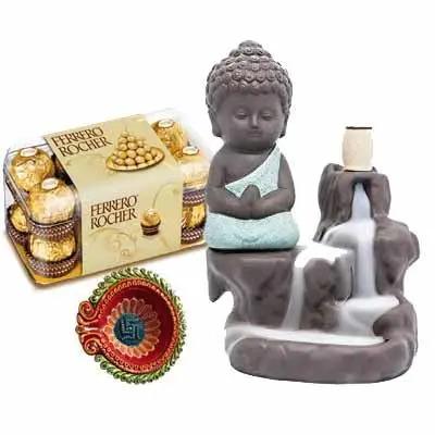 Buddha Fog with Ferrero Rocher & Diya