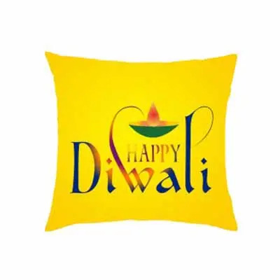 Happy Diwali Personalized Cushion