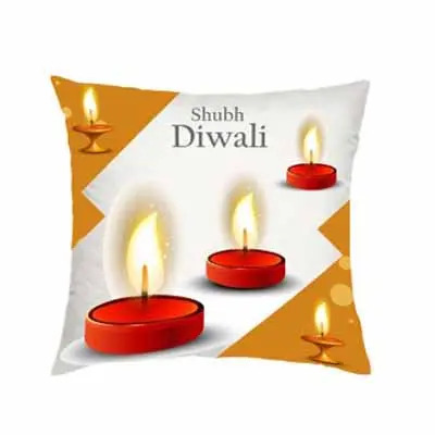 Shubh Deepawali Cushion