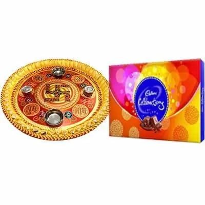 Thali with Celebration Pack