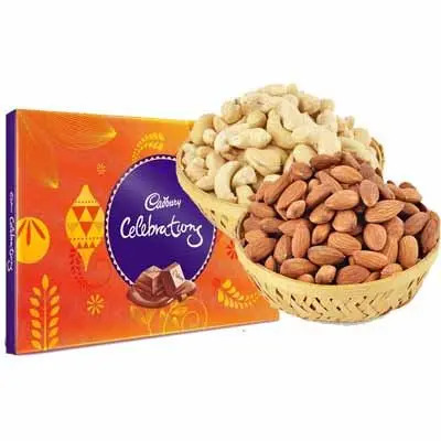 Almonds & Cashew with Cadbury Celebration