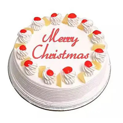 Christmas Pineapple Cake