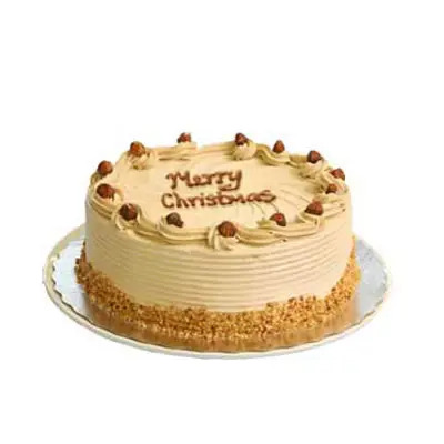 Merry Christmas Butterscotch Cake