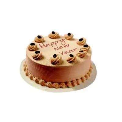 New Year Butterscotch Cake