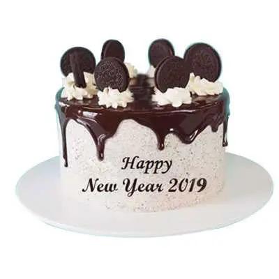 New Year Oreo Cake
