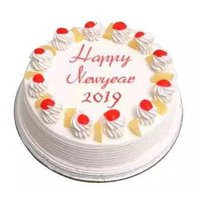 New Year Pineapple Cake