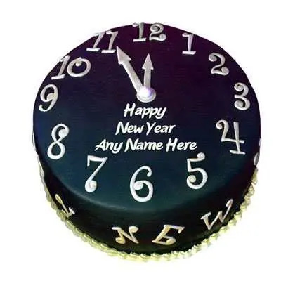 Party Time New Year Cake