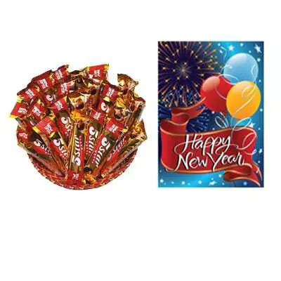 5 Star Chocolate Hamper with Card