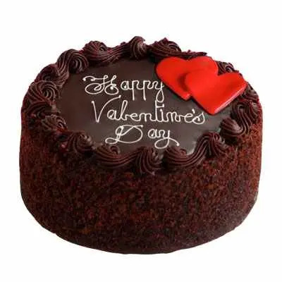 Valentine Day Chocolate Cake