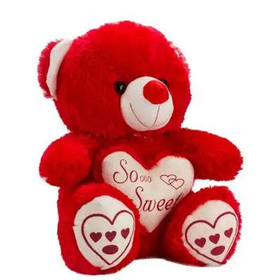 So Sweet Red Teddy Bear