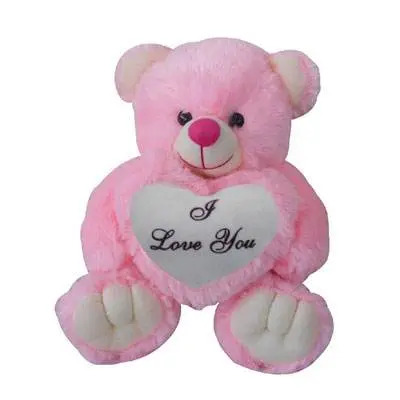 I Love U Pink Teddy Bear