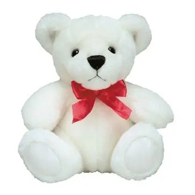 White Teddy Bear Medium
