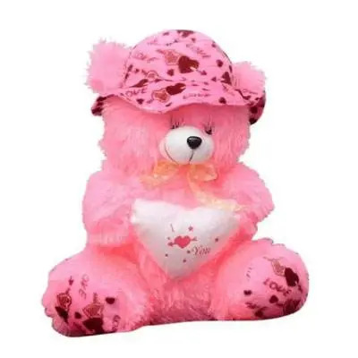 Pink I Love You Pink Teddy Bear
