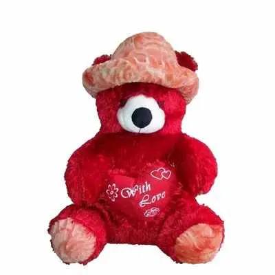 Happy Red Teddy Bear