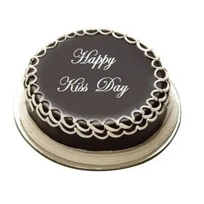 Kiss Day Chocolate Cake