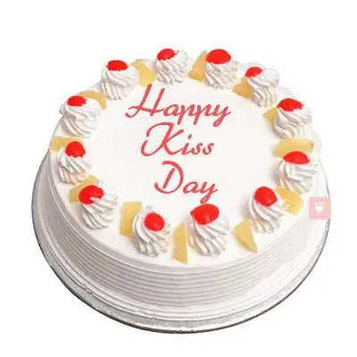 Kiss Day Pineapple Cake