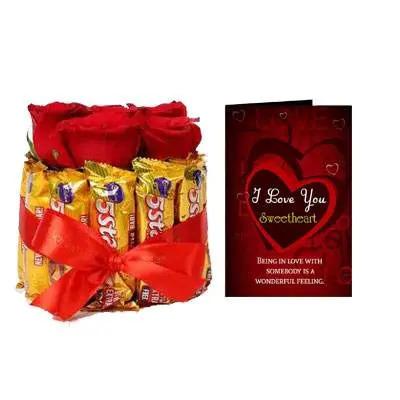 Roses & Chocolate Love