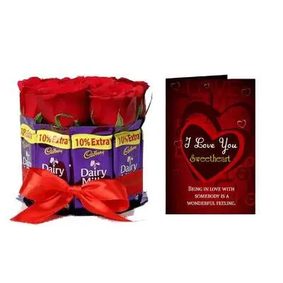 Roses & Chocolate Love Gift
