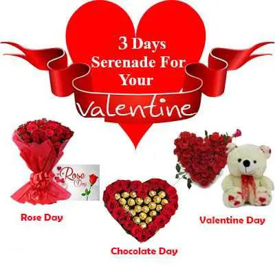 3 Days Serenades for Your Valentine