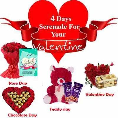 4 Days Serenades for Your Valentine