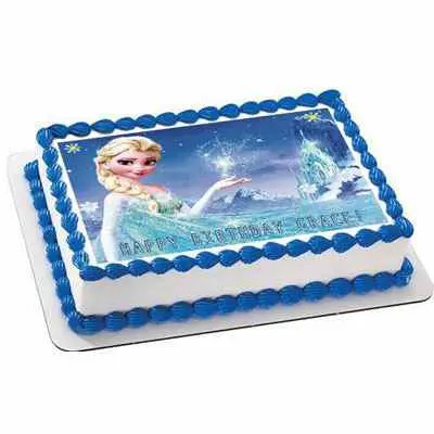 Princess Photo Cake Square