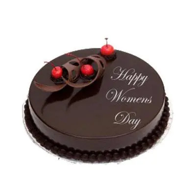 Happy Womens Day Chocolate Cake
