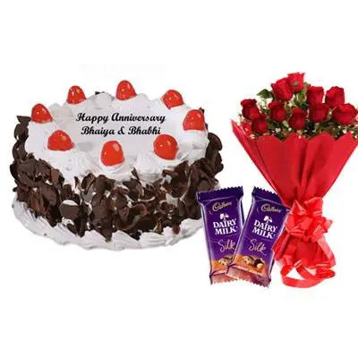 Black Forest Cake, Bouquet & Silk