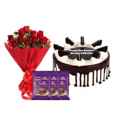 Oreo Cake, Bouquet & Silk