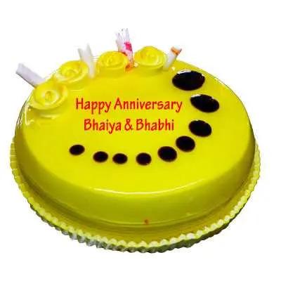 Anniversary Pineapple Cake
