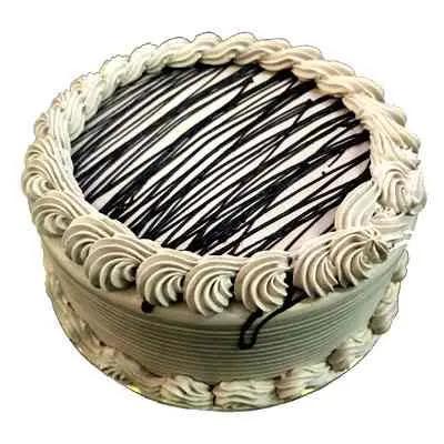 Eggless Chocolate Cream Cake