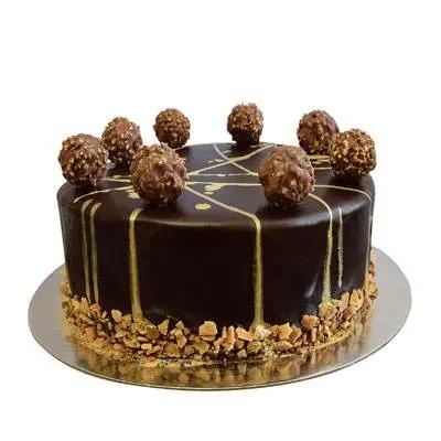 Ferrero Rocher Chocolate Cake
