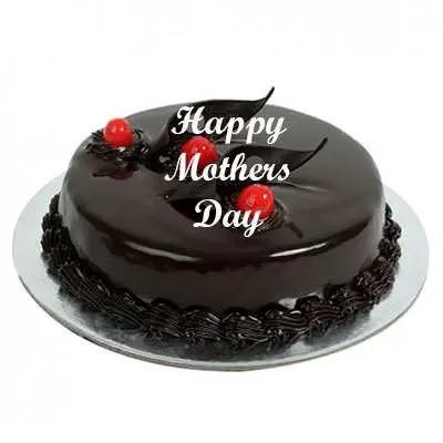 Mothers Day Chocolate Truffle Cake