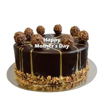 Mothers Day Ferrero Rocher Chocolate Cake