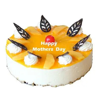 Mothers Day Mango Cheese Cake