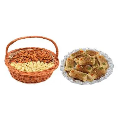 Almonds, Cashew & Milk Cake