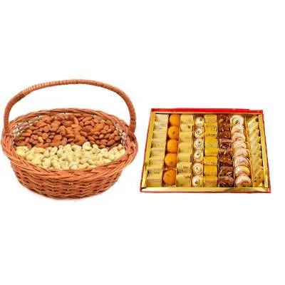 Almonds, Cashew & Mixed Sweets