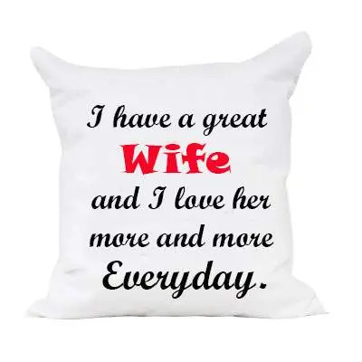 Cushion for Loving Wife