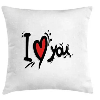 I love you Throw Cushion