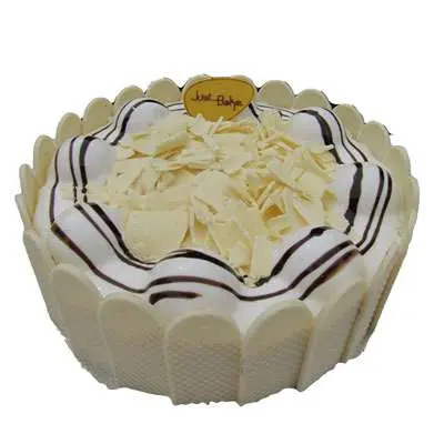 Delicious White Forest Cake